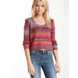 Michael Stars wool/alpaca cropped 90's sweater